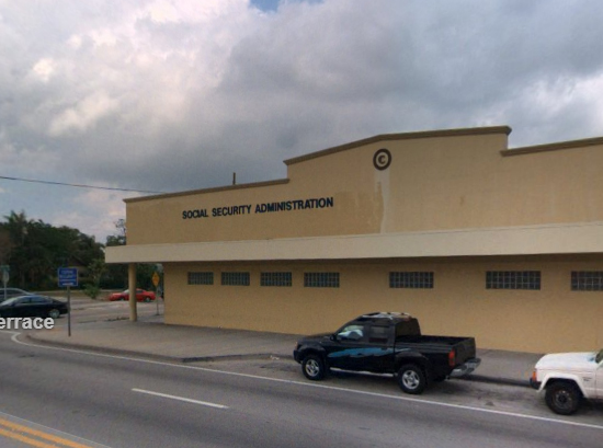 Miami FL Social Security Administration Office Biscayne